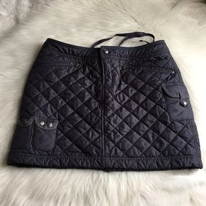 Athleta quilted skirt